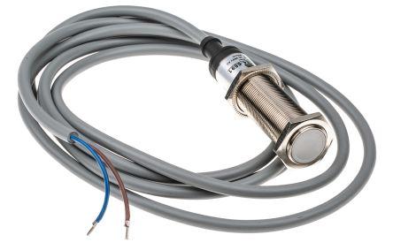 RS PRO 70mm Flush Mount Capacitive sensor, Output, 5 mm Detection Range, IP67