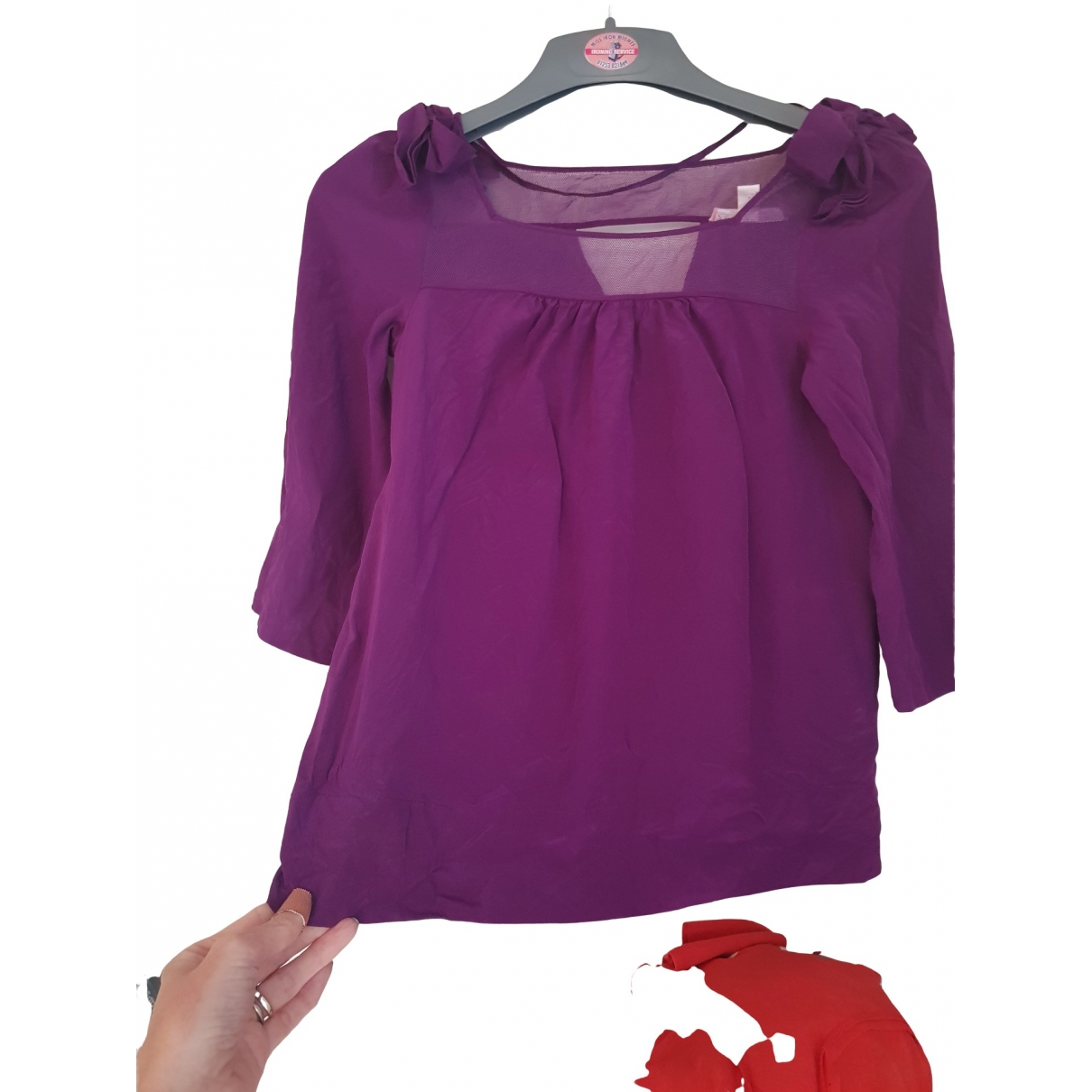 Rebecca Taylor \N Purple Silk  top for Women 2 US