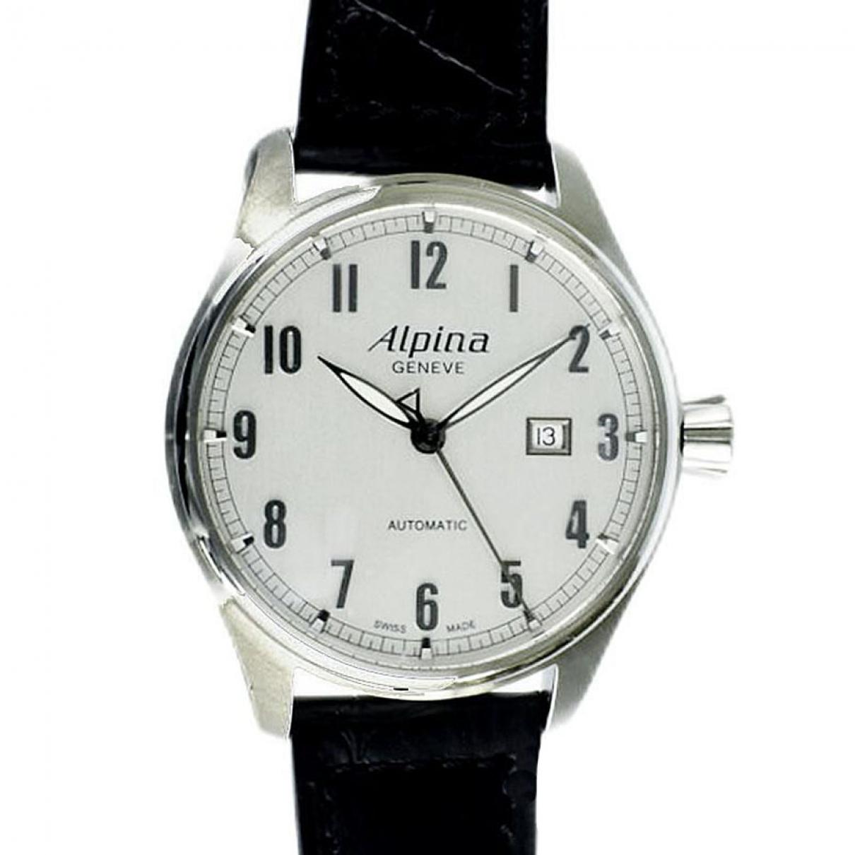 Alpina \N Uhr in  Silber Stahl