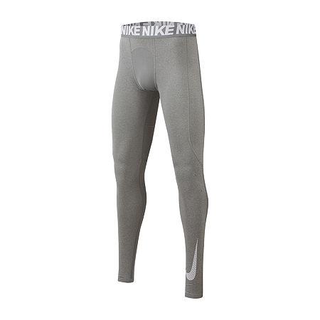 Nike Big Boys Skinny Pull-On Pants, Small , Gray