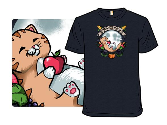 Harvest Moon Cat T Shirt