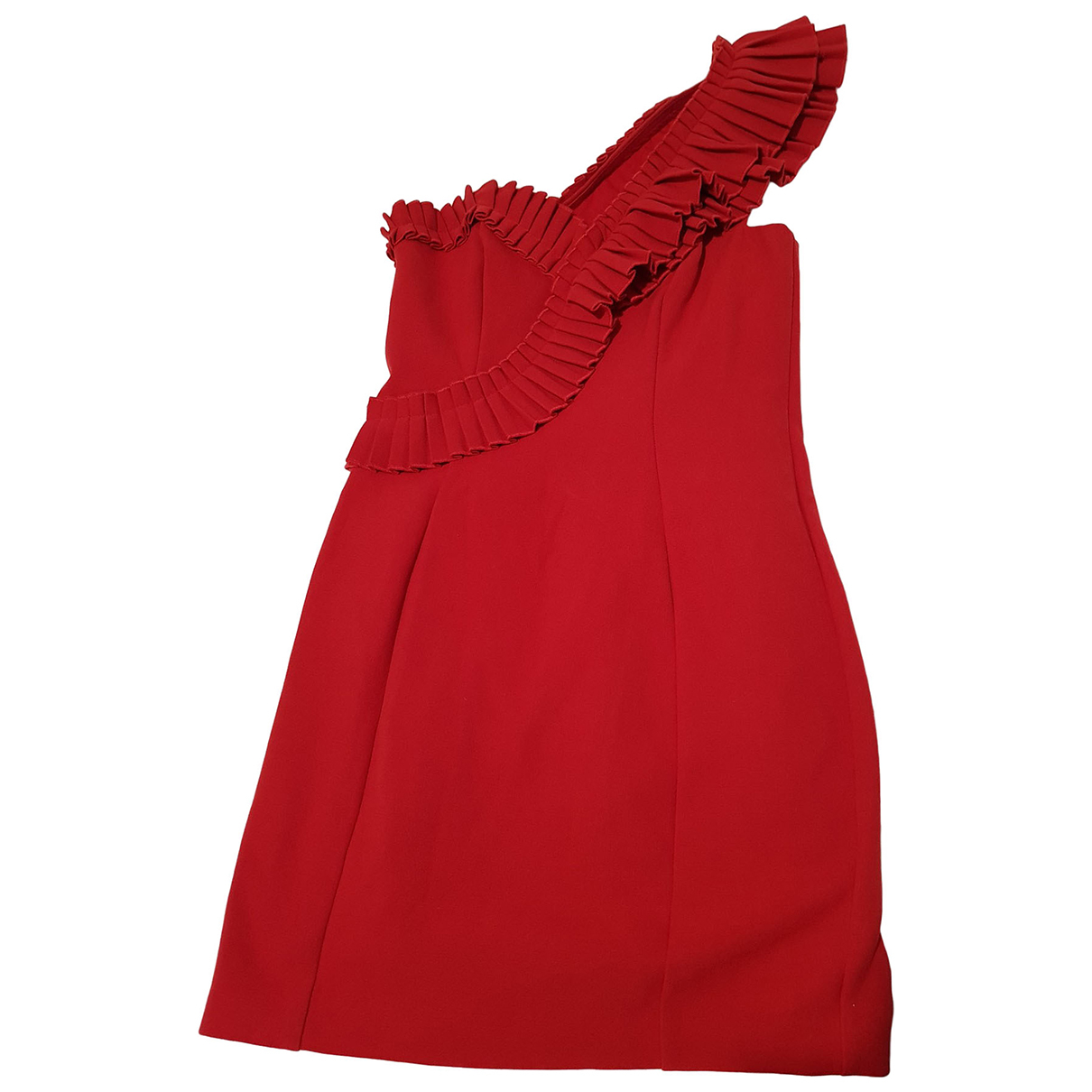 River Island \N Kleid in  Rot Polyester