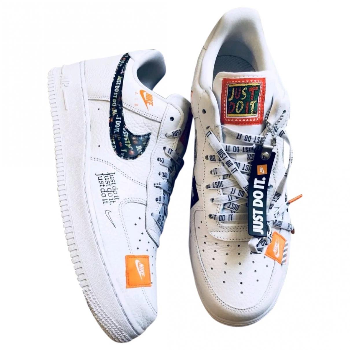 Deportivas Air Force 1 de Lona Nike