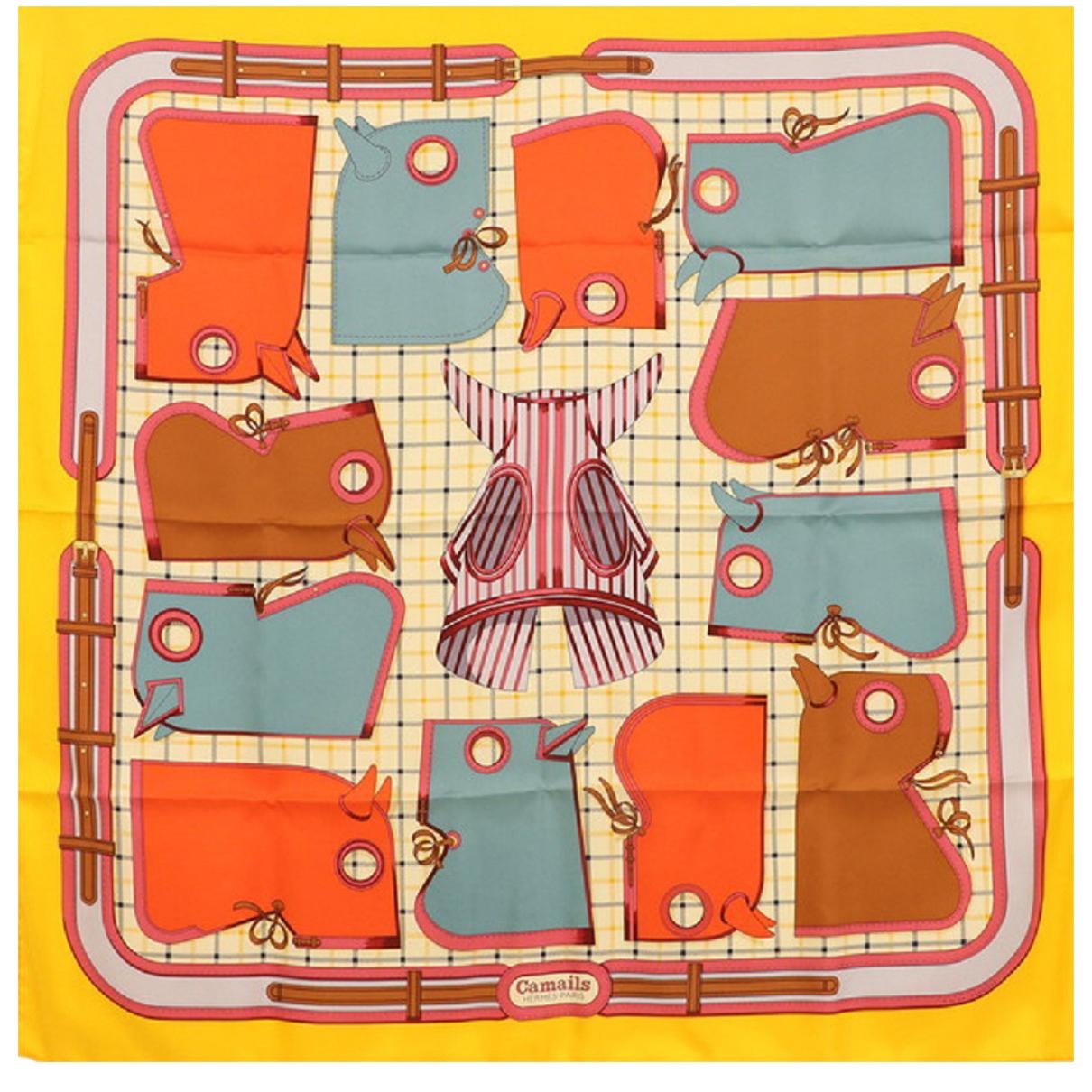 Hermès N Silk scarf for Women N