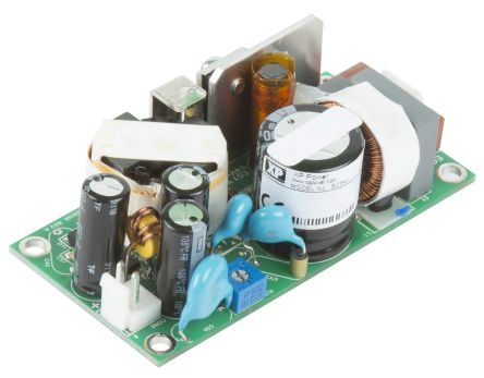 XP Power , 40W Embedded Switch Mode Power Supply SMPS, 12V dc, Open Frame, Medical Approved