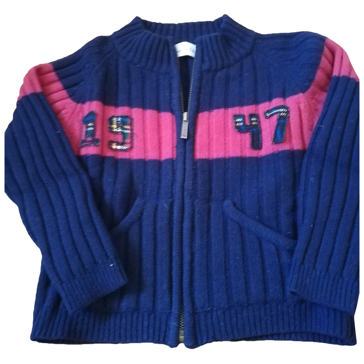 Dior \N Blue Wool Knitwear for Kids 6 years - up to 114cm FR