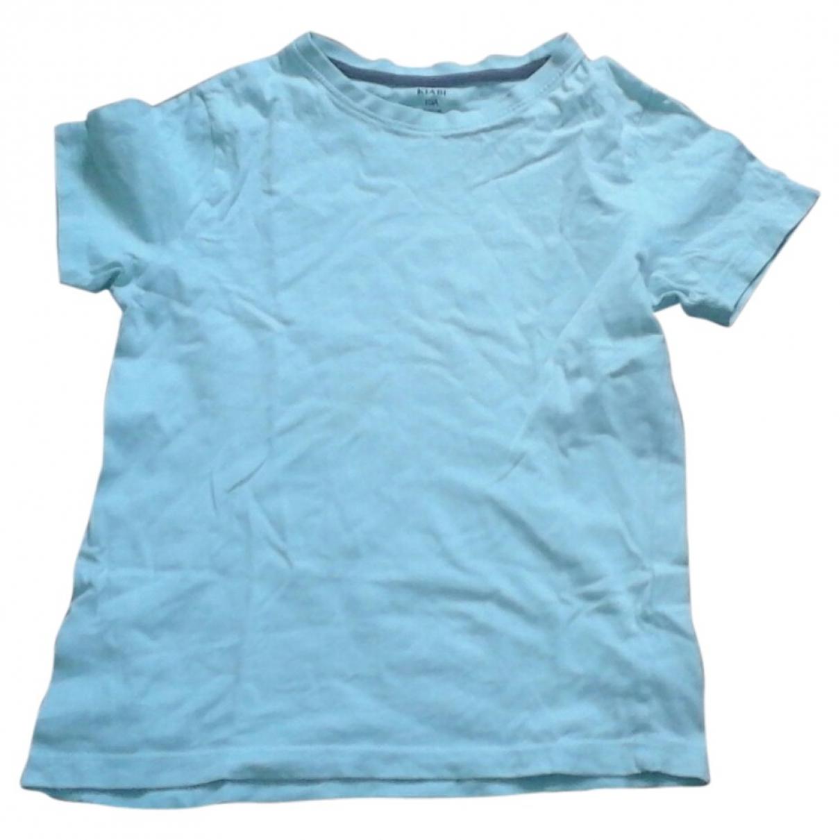 - Top   pour enfant en coton - bleu