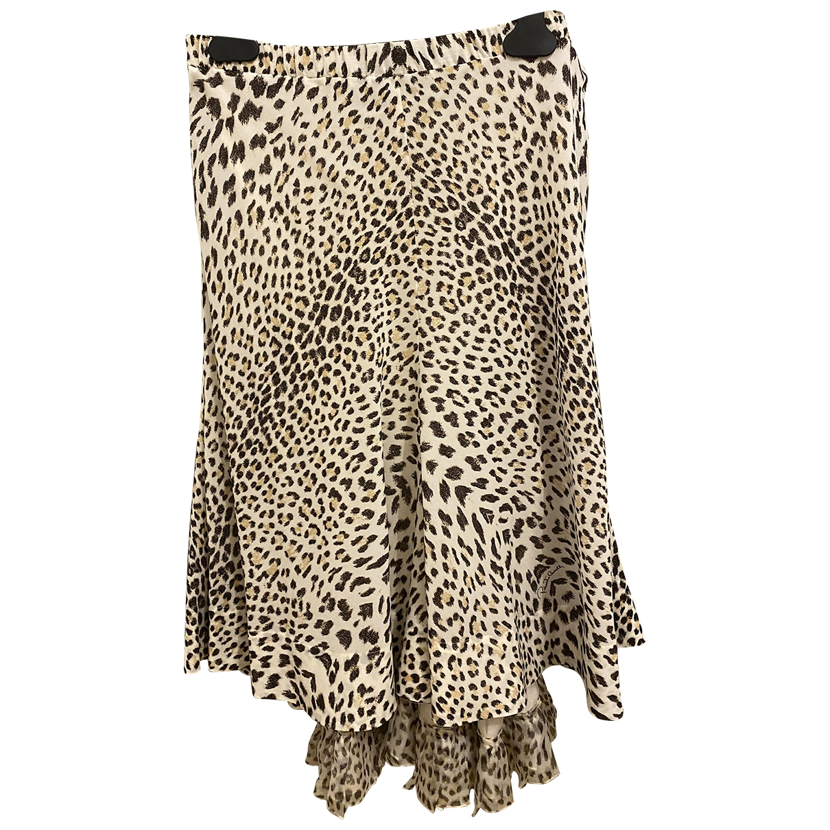 Roberto Cavalli \N Silk skirt for Women 42 IT