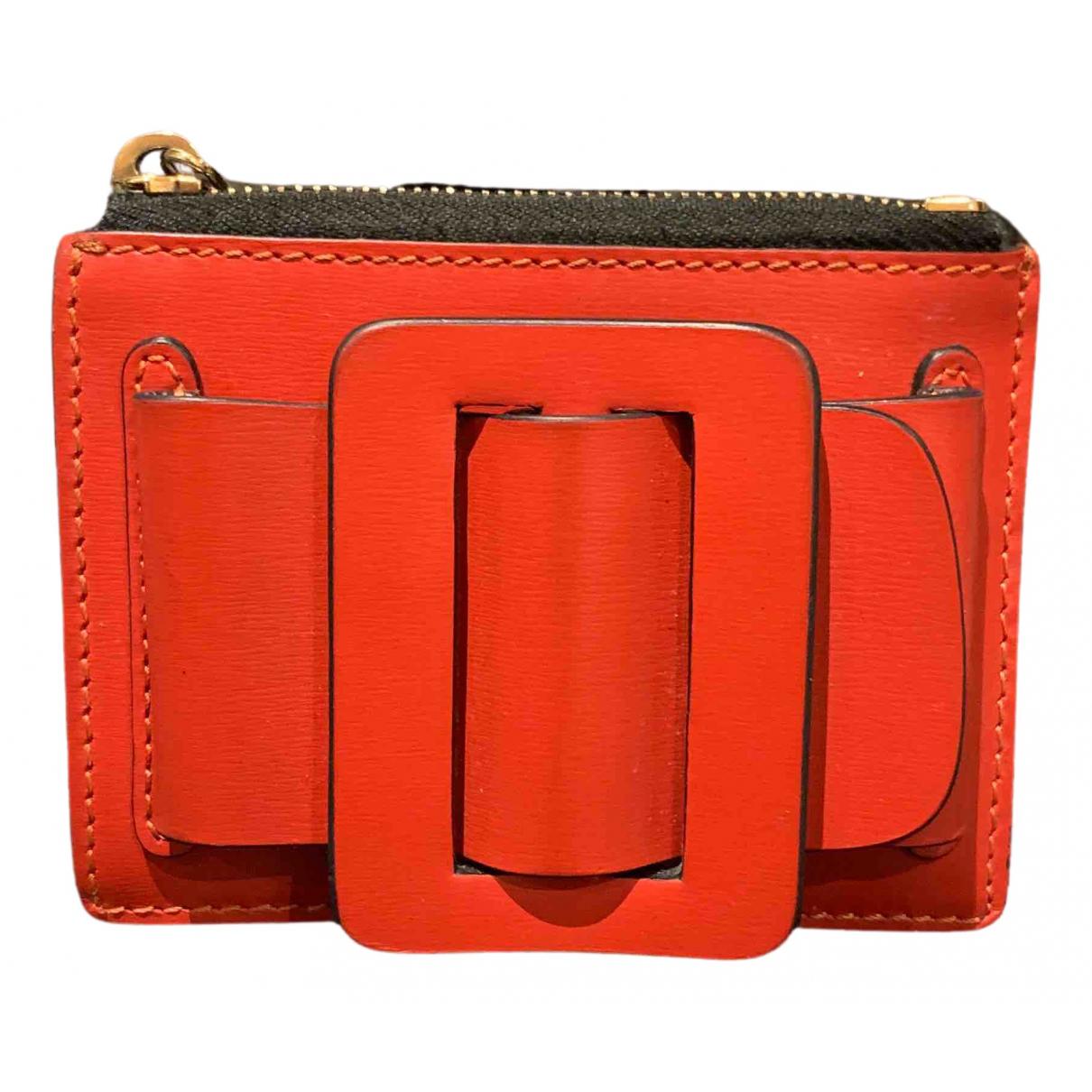 Boyy N Red Leather wallet for Women N
