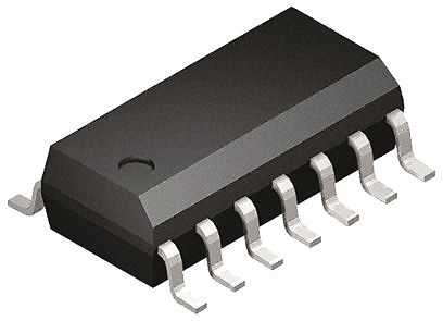 DiodesZetex AS324MTR-G1 , Low Power, Op Amp, 3 → 36 V, 14-Pin SOIC (50)