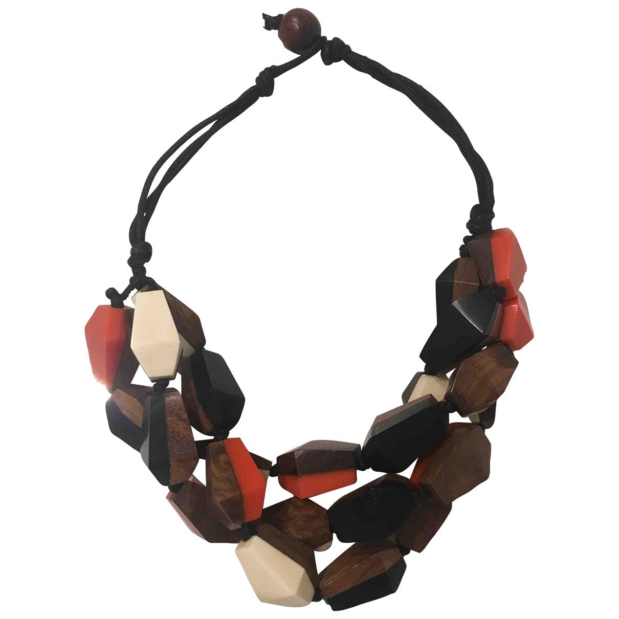 Collar Motifs Ethniques Non Signe / Unsigned