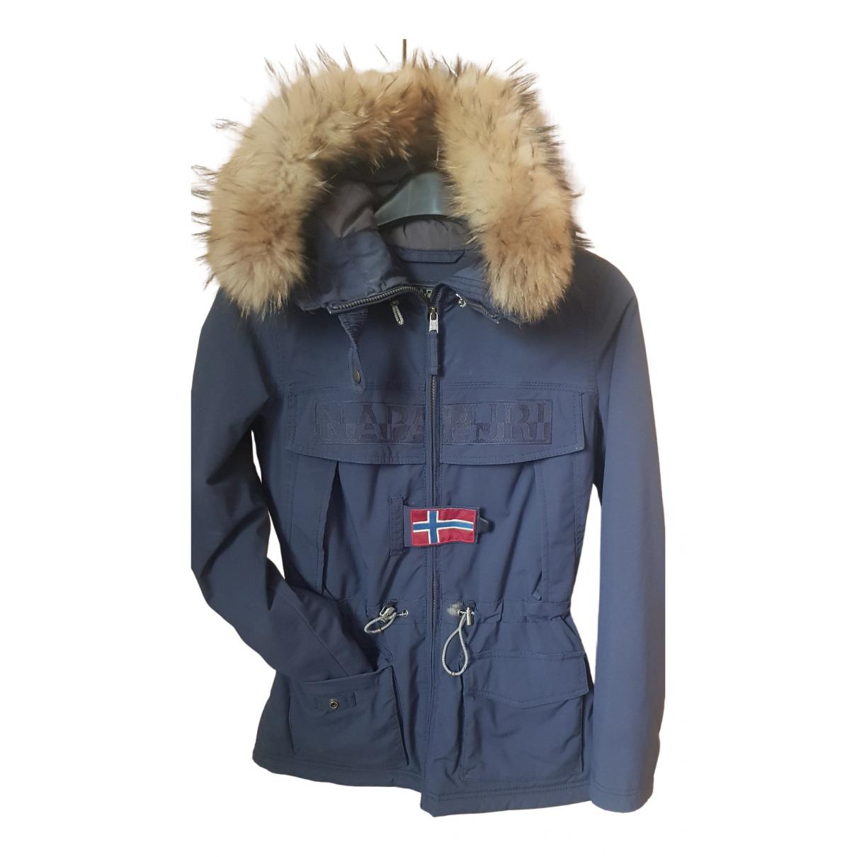 Napapijri - Manteau   pour femme - bleu
