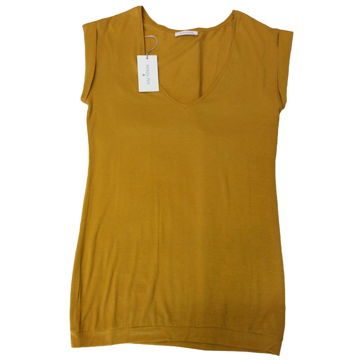 Patrizia Pepe - Top   pour femme - jaune