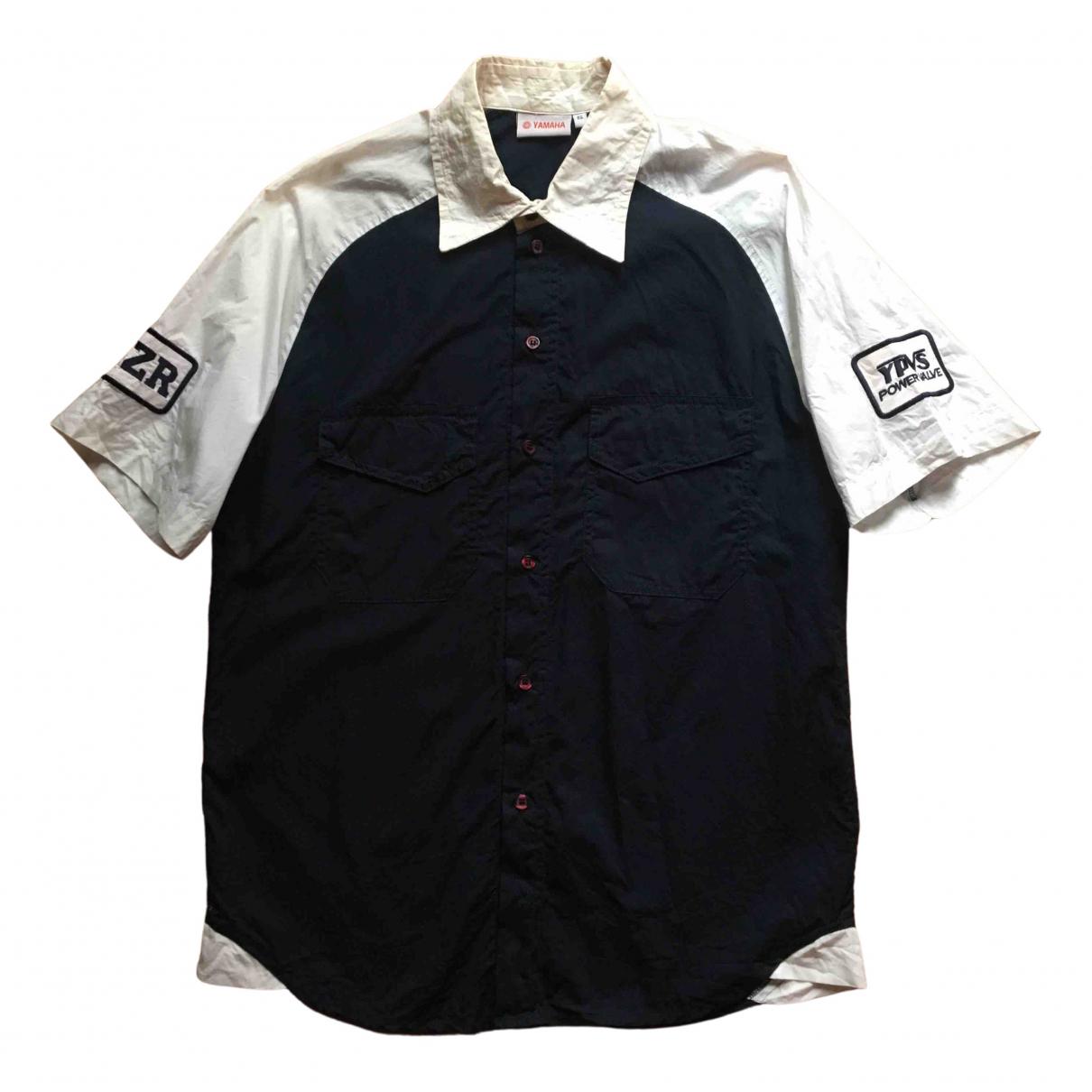 - Chemises Oversize pour homme en coton - bleu