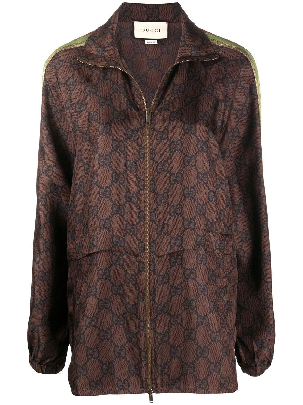 Silk Blend Gg Supreme Jacket