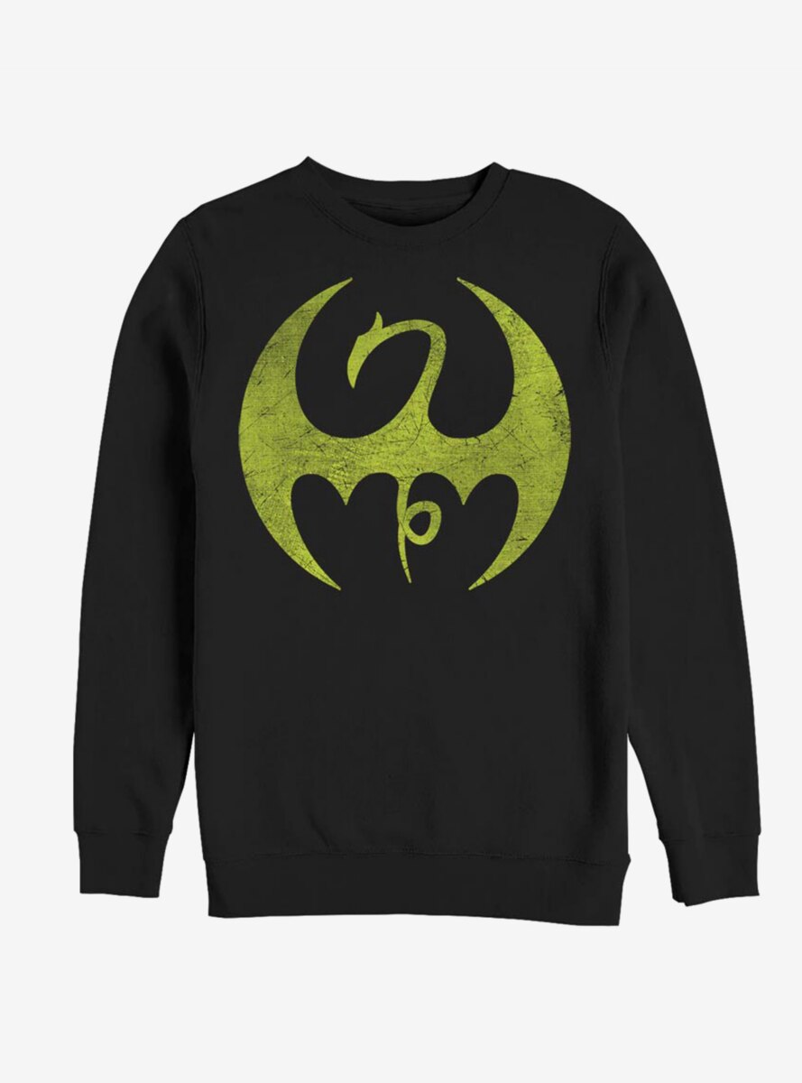 Marvel Iron Fist Iron Logo Sweatshirt