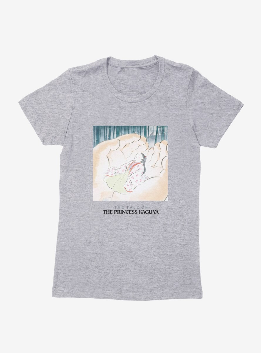 Studio Ghibli The Tale Of Princess Kaguya Womens T-Shirt