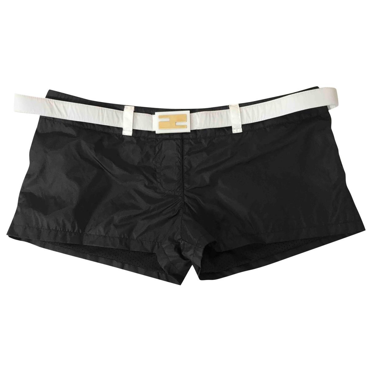 Fendi \N Shorts in  Schwarz Polyester