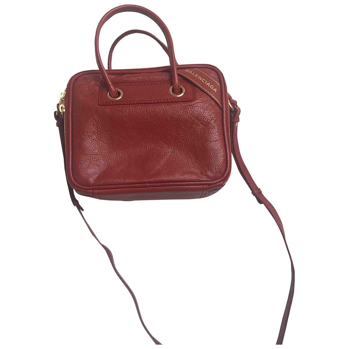 Balenciaga - Sac a main Blanket pour femme en cuir - rouge
