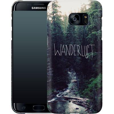 Samsung Galaxy S7 Edge Smartphone Huelle - Wanderlust - Rainier Creek von Leah Flores