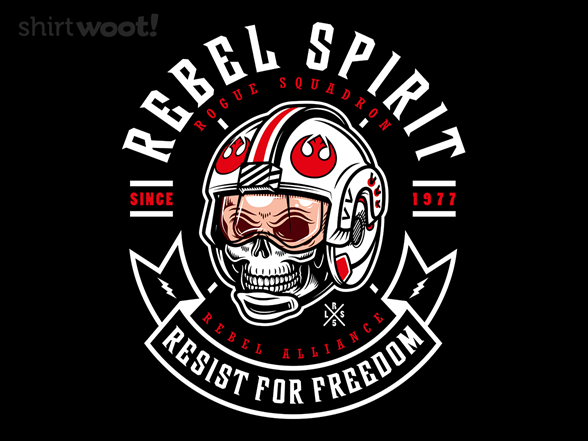 Rebel Since 1977 T Shirt