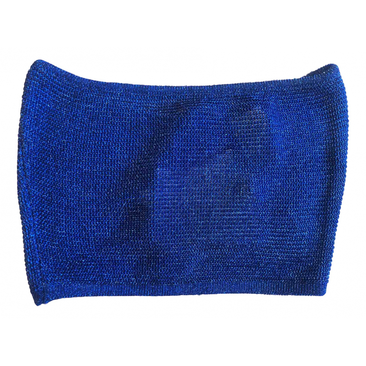 Balmain - Top   pour femme - bleu
