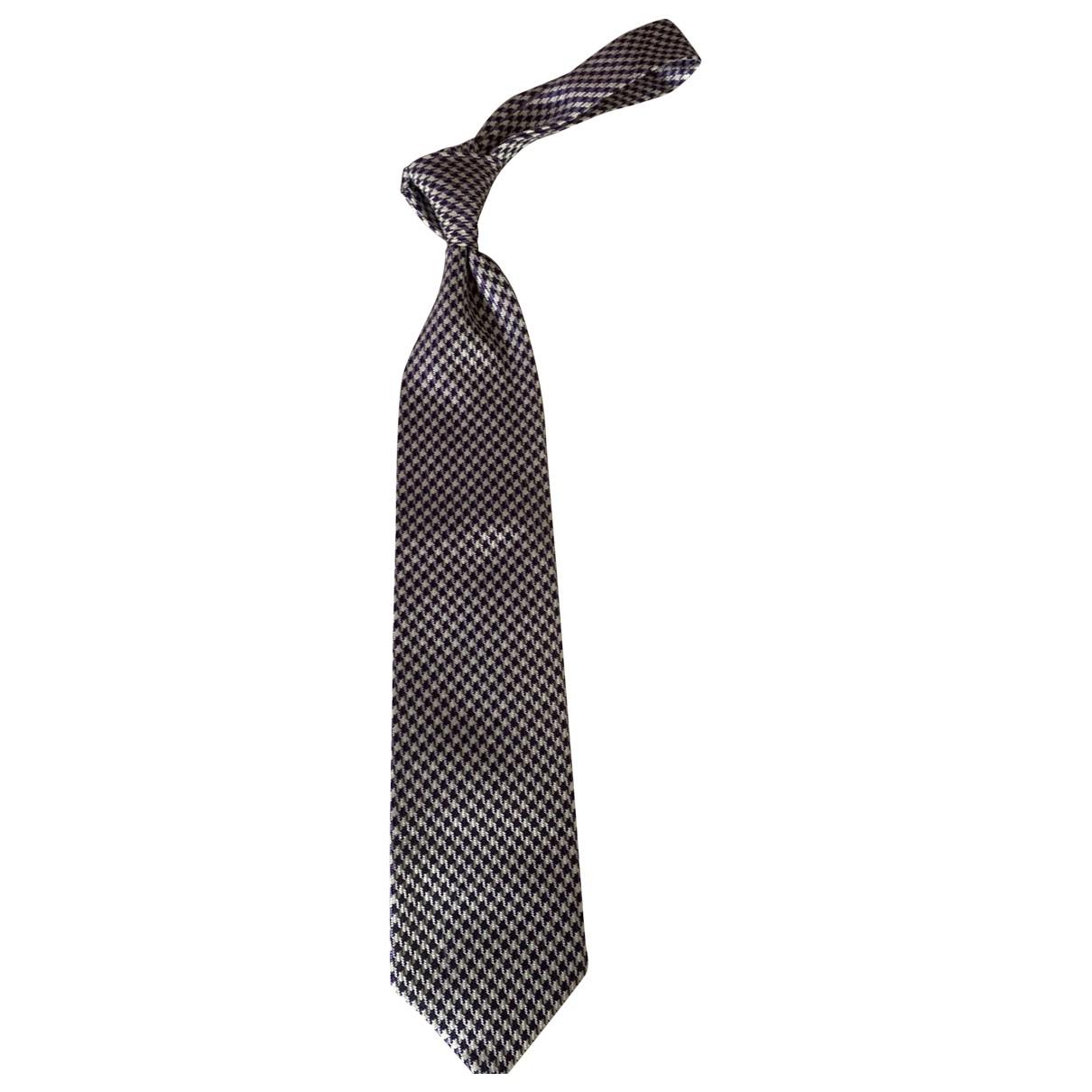 Tom Ford \N Krawatten in  Lila Seide