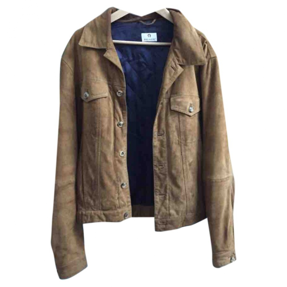 Aigner \N Brown Suede jacket  for Men L International