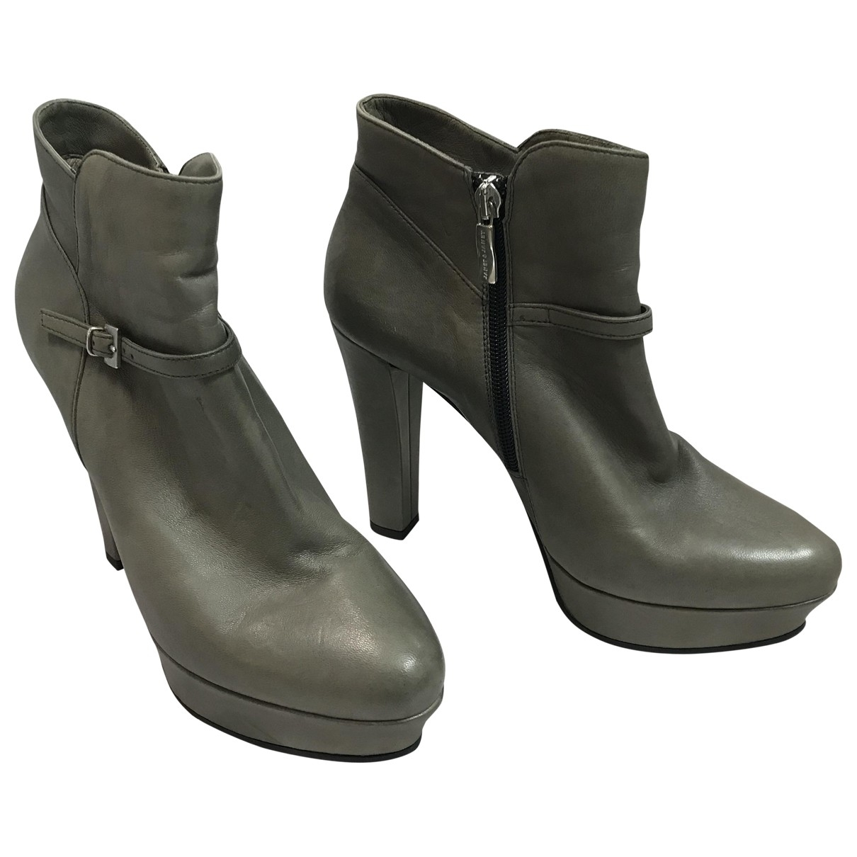 Janet & Janet \N Leather Ankle boots for Women 39 EU