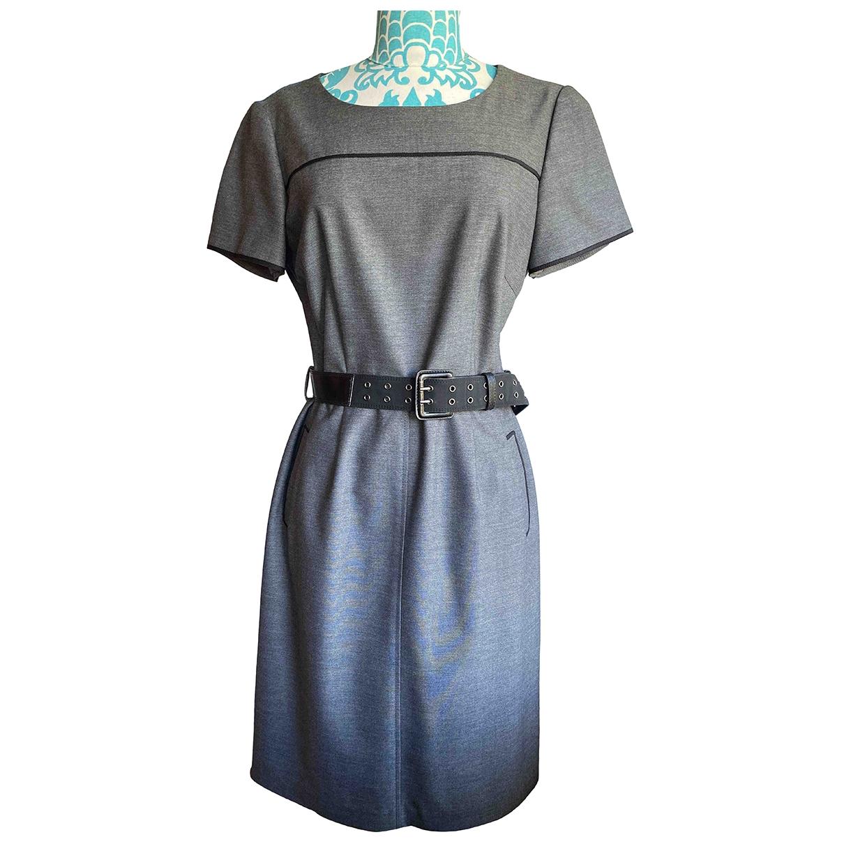 Elie Tahari \N Kleid in  Grau Baumwolle