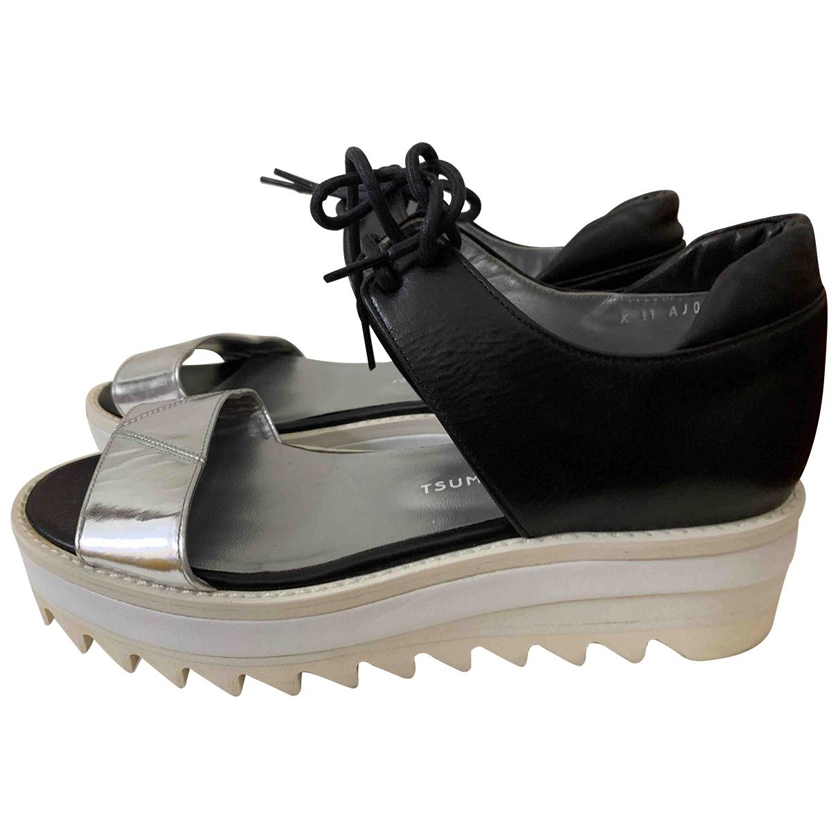 Tsumori Chisato - Sandales   pour femme en cuir - noir