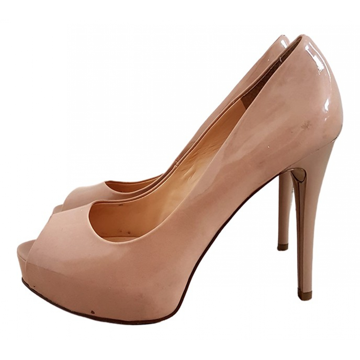 Guess \N Patent leather Heels for Women 8 US