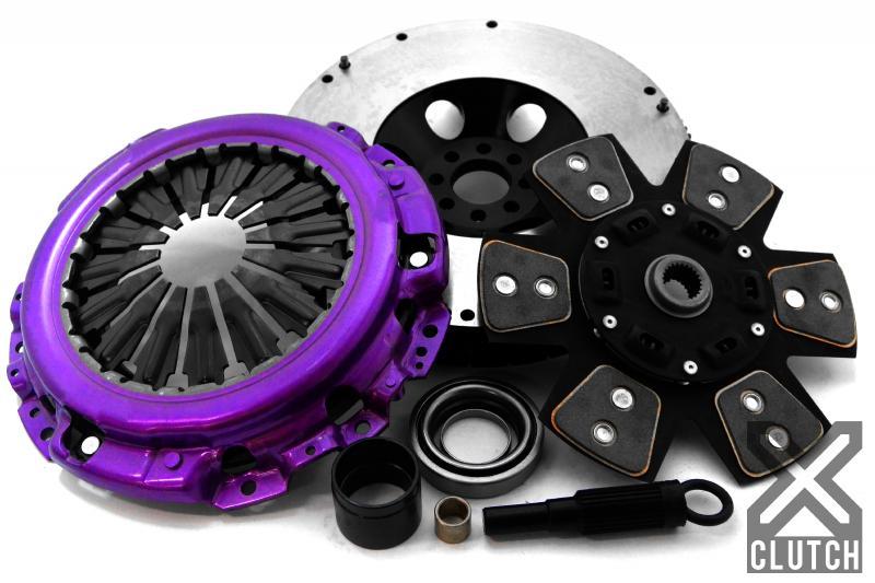 XClutch XKNI25525-1R Clutch Kit with Chromoly Flywheel Stage 2 Ceramic Race Disc