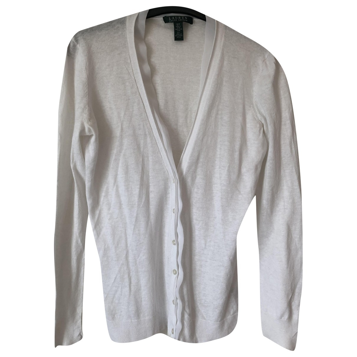 Lauren Ralph Lauren \N White Linen Knitwear for Women S International