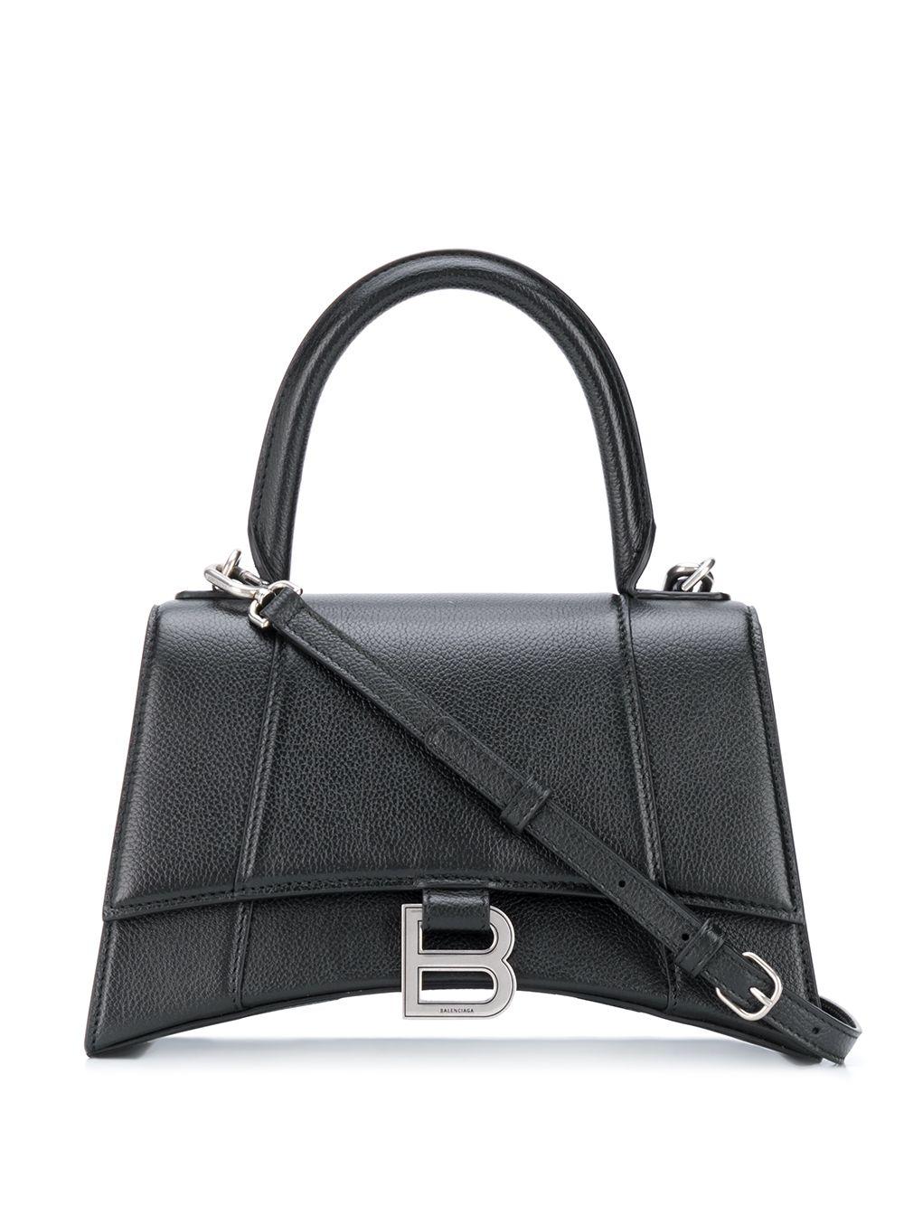 Hourglass Small Leather Handbag