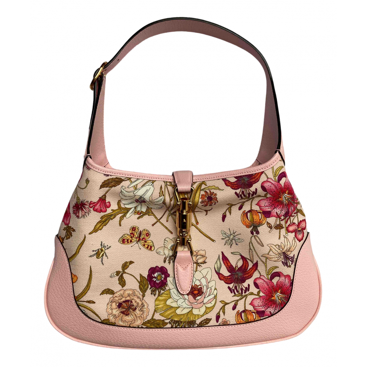 Gucci Jackie Pink Leather handbag for Women N