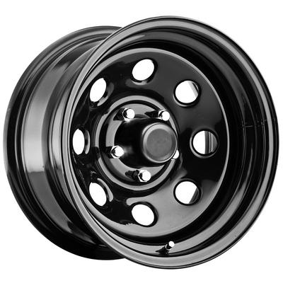 Pro Comp 97 Series Rock Crawler, 15x8 Wheel with 5 on 4.5 Bolt Pattern - Gloss Black - 97-5865