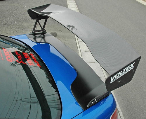 Voltex VL-IR-3 FRP GT Wing Trunk Cover Subaru WRX STI 06-07