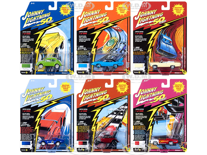 Classic Gold 2019 Release 1 Set A of 6 Cars