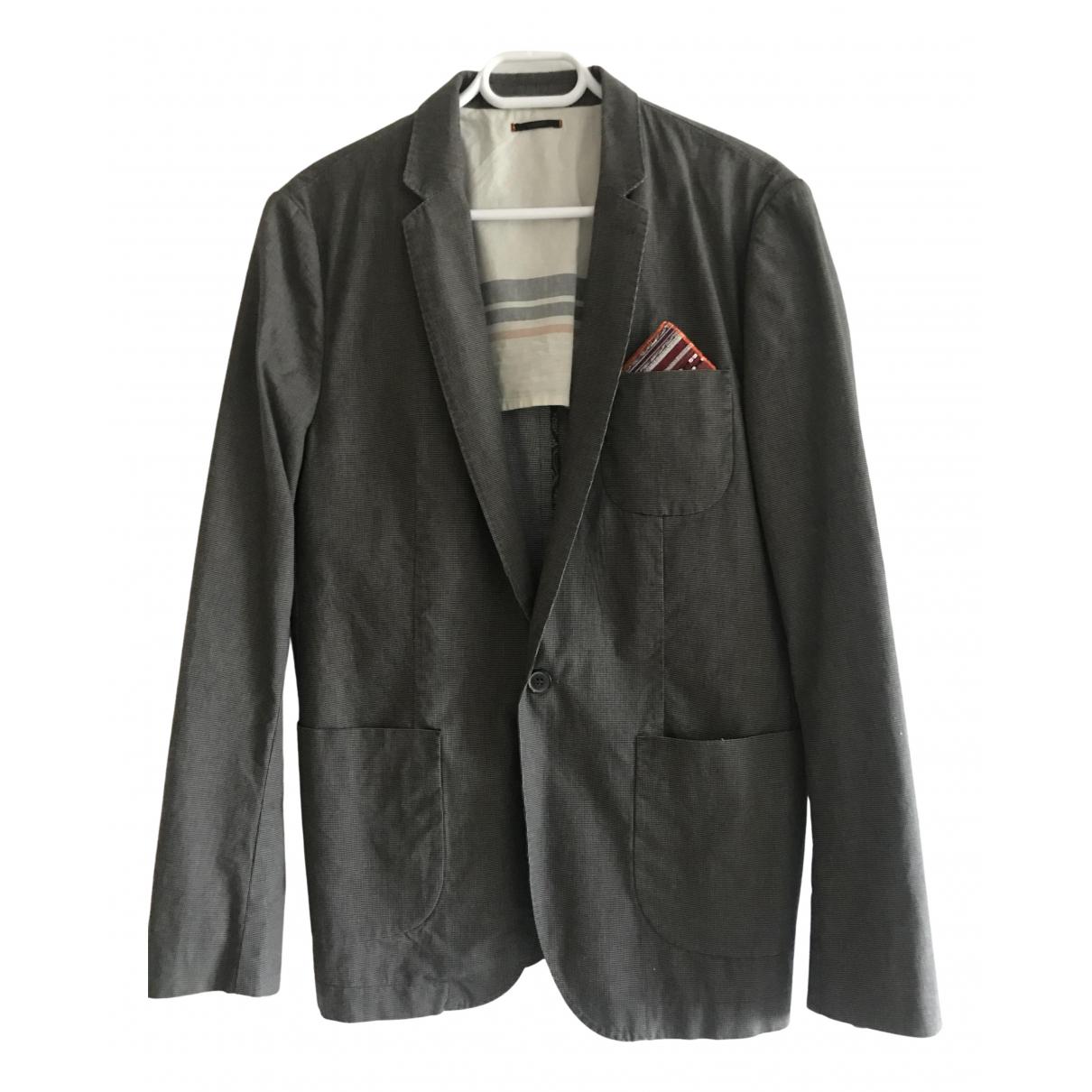 Ikks \N Grey Cotton jacket  for Men 50 FR