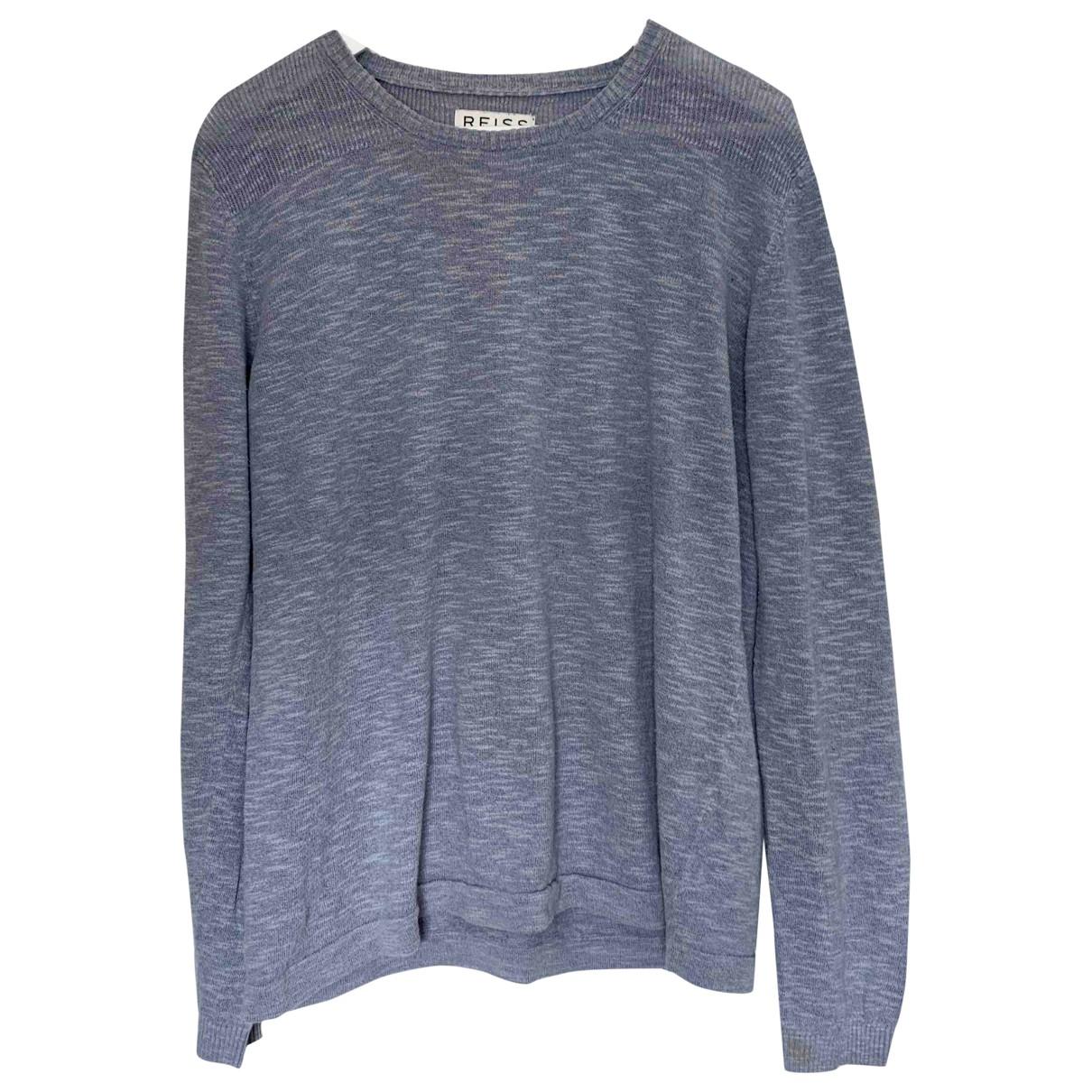 Reiss \N Blue Cotton Knitwear & Sweatshirts for Men M International