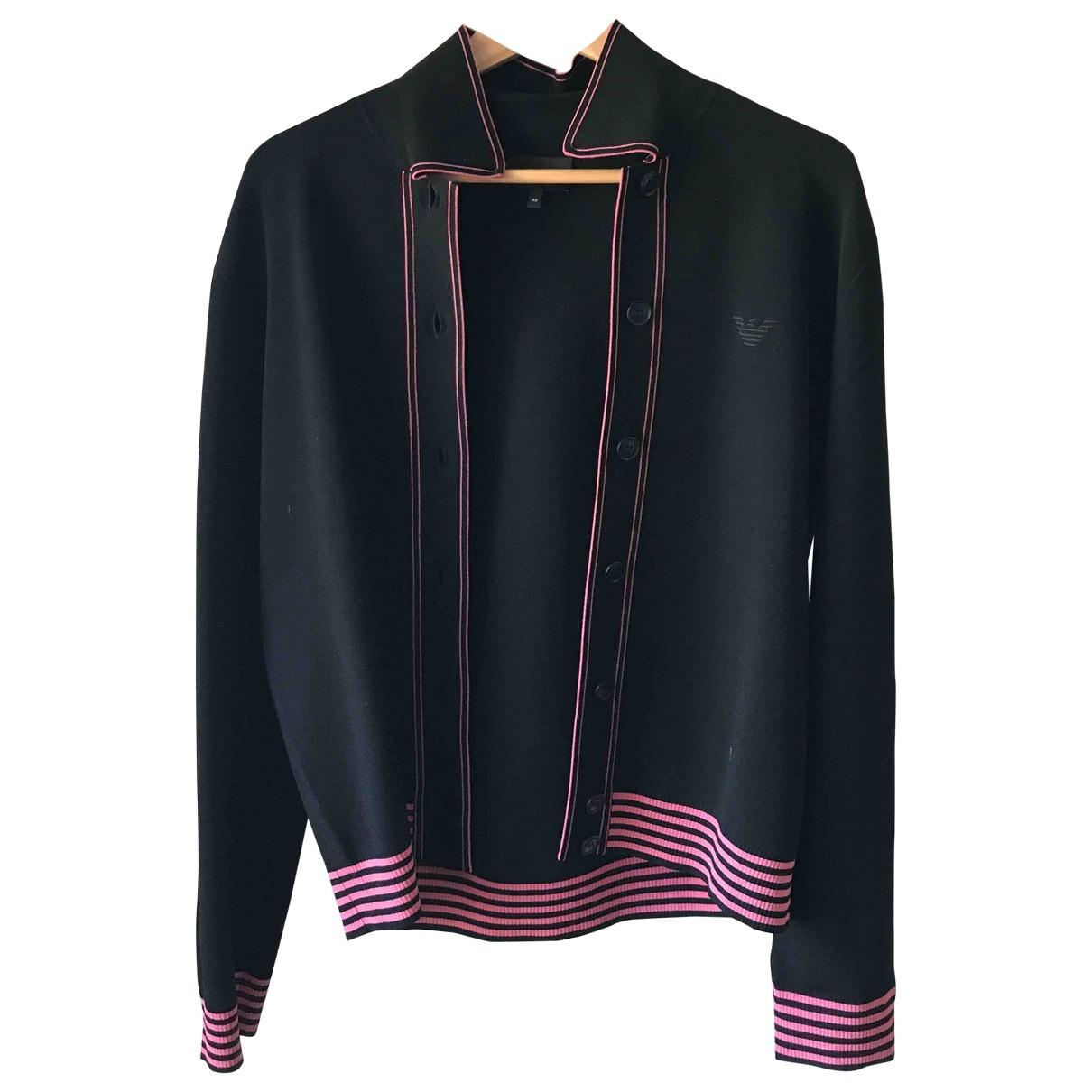 Emporio Armani \N Black Knitwear for Women 46 IT