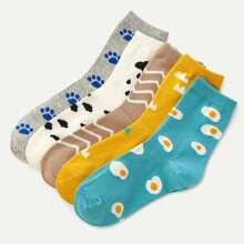 Socken mit Muster 5Paare