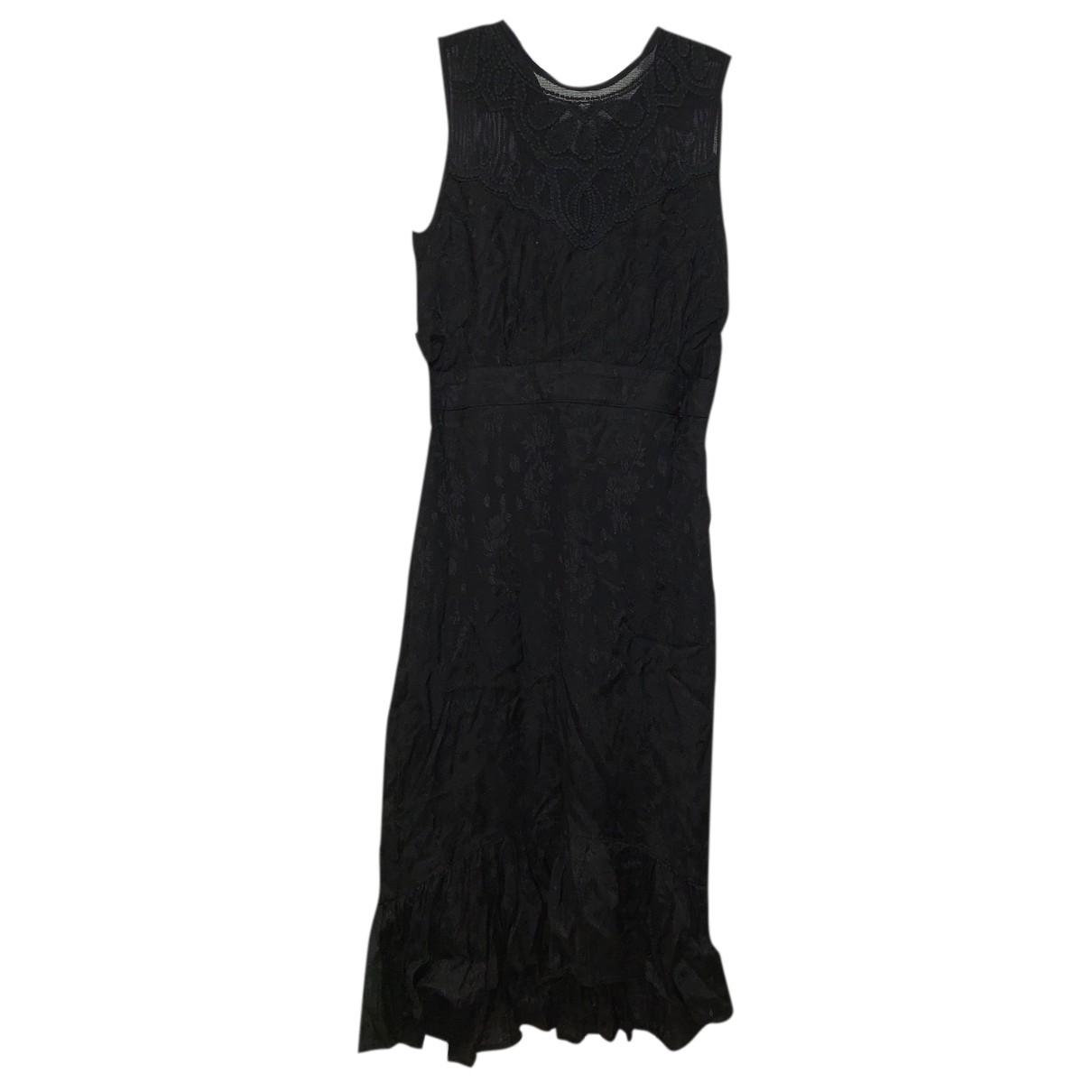 Hoss Intropia \N Kleid in  Schwarz Viskose