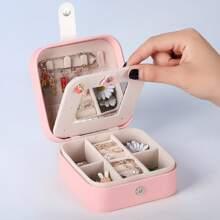 Multi-compartment Jewelry Storage Box