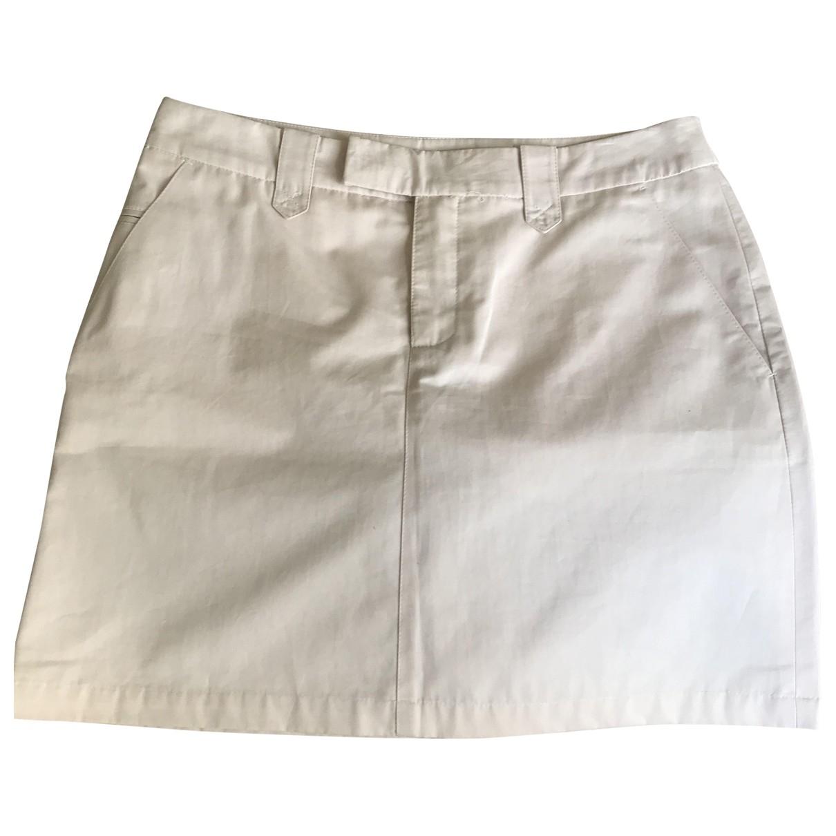 Filippa K - Jupe   pour femme en coton - beige