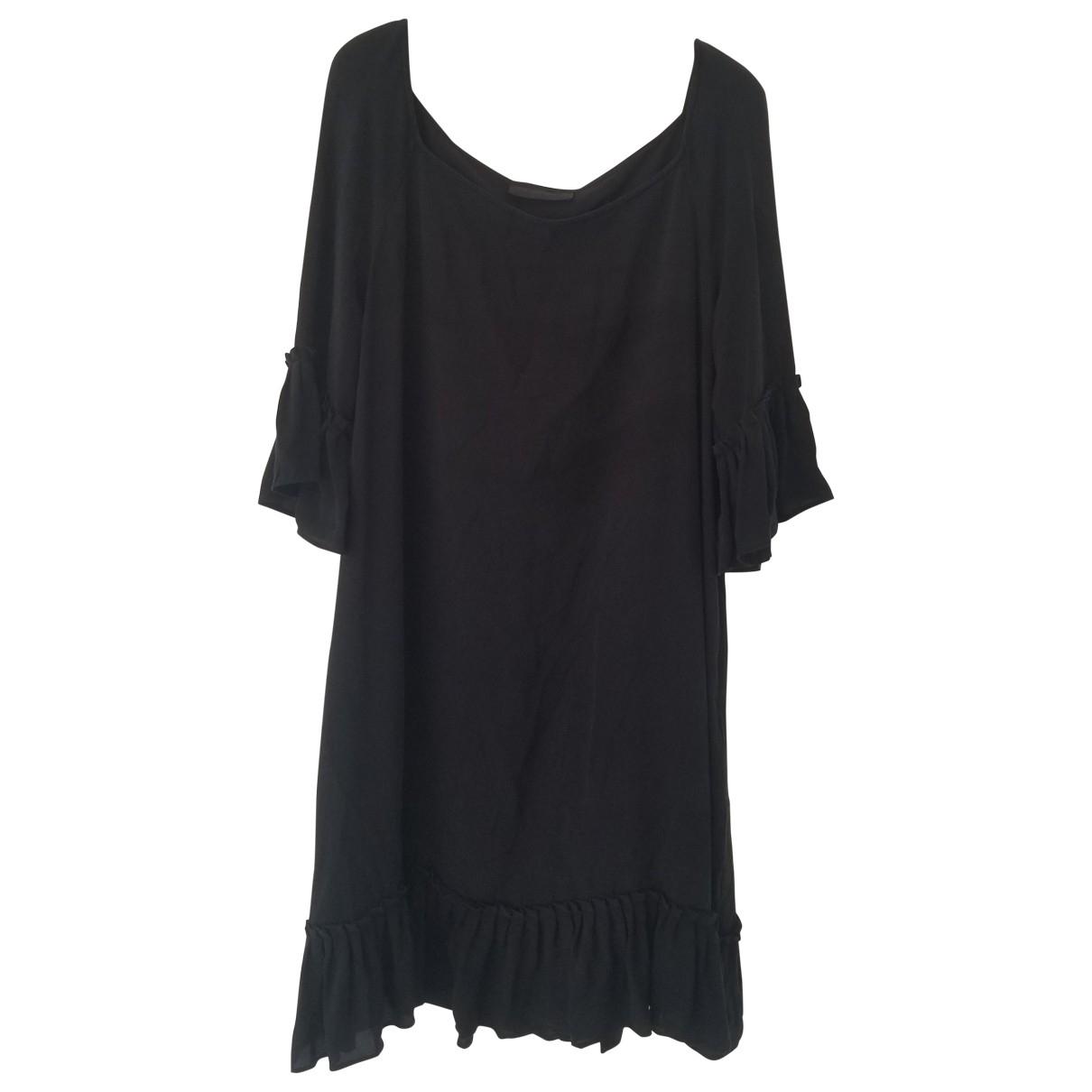 Nicole Farhi N Black Silk dress for Women 16 UK