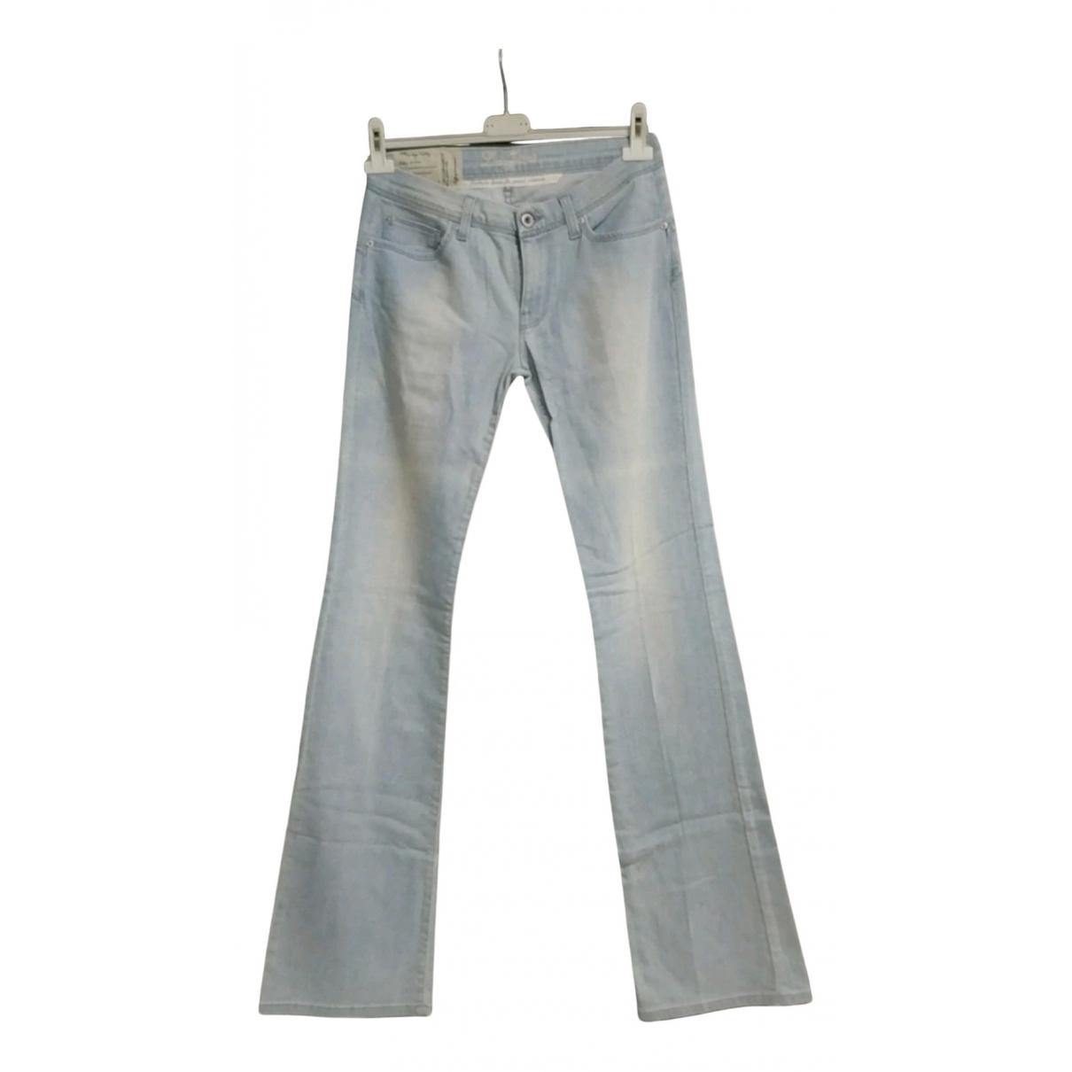 - Pantalon   pour femme en denim - bleu