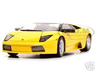 Lamborghini Murcielago Roadster Yellow 1/18 Diecast Model Car by Maisto