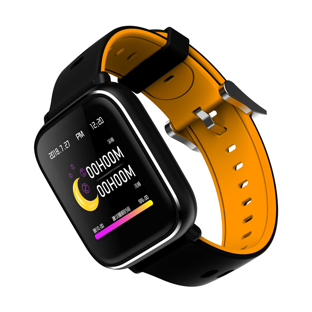 Bakeey Q58S 3D Dynamic Icon Full Touch Screen Heart Rate Blood Pressure Monitor Sport Modes Smart Watch